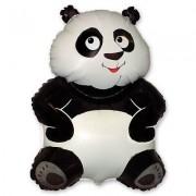 Панда фольгированная 83х56 см