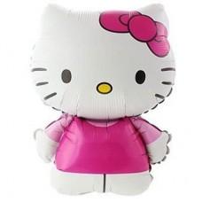 Котенок Китти фольгированная 70 см