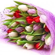 Букет с тюльпанами №1