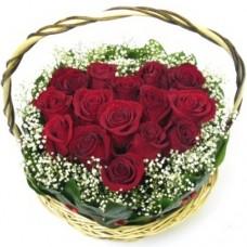 Сердце из роз №2