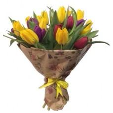 Тюльпаны в бумаге