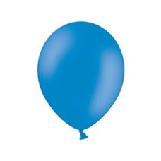 Синий шар с гелием 25 см