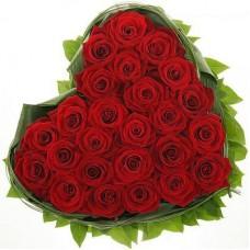 Сердце из роз №4